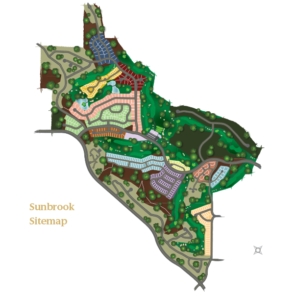 Sunbrook Site Map